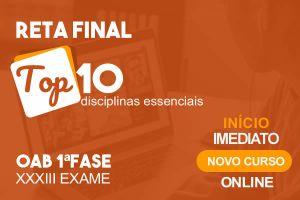 Reta Final TOP10 - OAB XXXIII Exame - início 13/09