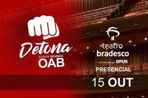 Detona OAB – XXXIII Exame – Presencial