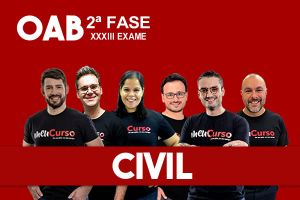 Civil – 2.ª Fase XXXIII OAB - Extensivo - início 13/09