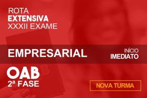 Empresarial – 2.ª Fase XXXII OAB - Extensivo