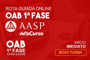 MEU CURSO   AASP - OAB XXXIII Exame – Rota Guiada Online