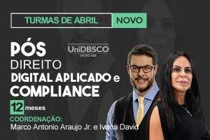 Direito Digital Aplicado e Compliance Digital - 12 meses