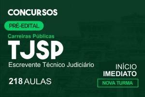 Escrevente Técnico do TJ/SP - Intensivo pré-edital |Junho. 2021