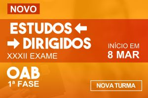 Estudos Dirigidos 1ª fase OAB - XXXII Exame - Programação especial