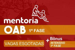 Mentoria OAB XXXIII - 1ª Fase - Prof Darlan Barroso e Prof. Marco Antonio