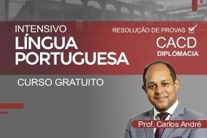 CACD - intensivo de Língua Portuguesa